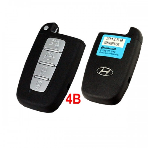 I30 4 Button Remote Smart Key For Hyundai