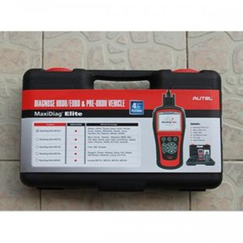 French Autel Maxidiag Elite MD704 for 4 system +DS model update internet
