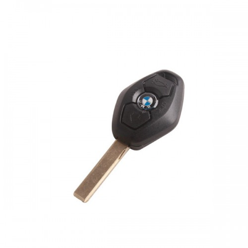 Car key shell 3 button 2 track For Bmw (back side with the words 315MHZ) 5pcs/lot