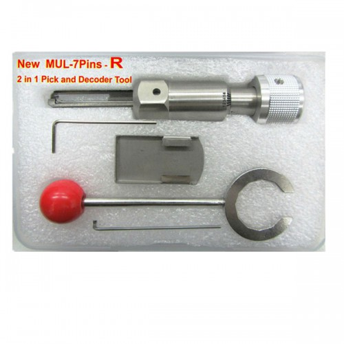 New MUL-5Pins-R 2 in 1 pick and Decoder Tool (R-UP)