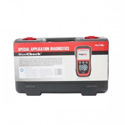 Original French Autel MaxiCheck-EPB Brake Pads Replacement And Recalibration Clears EPB/SBC Trouble Codes Scanner