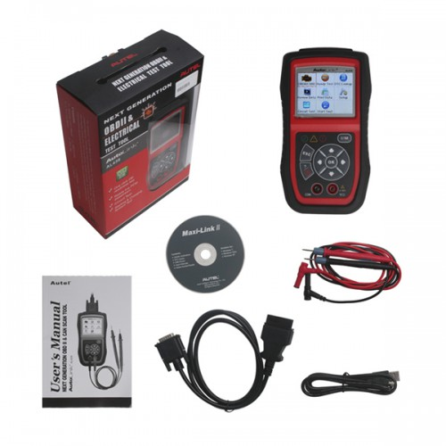 Original Autel AutoLink AL439 OBDII/CAN And Electrical Test Tool Support Le Français