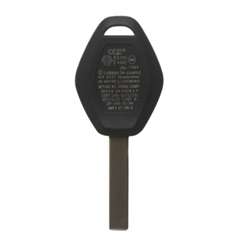 Remote Key 3 Button 433MHZ HU92 For BMW EWS