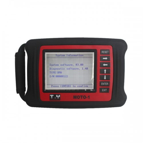Original MOTO Motorcycle-Specific Diagnostic Scanner For BMW Anglais