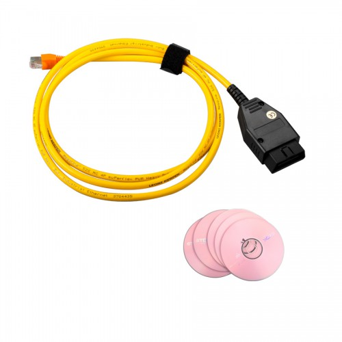 ENET (Ethernet to OBD) Interface Cable E-SYS ICOM Coding F-Series For BMW