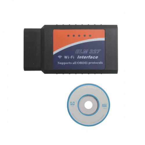 WIFI ELM327 1.5 Wireless OBD2 Auto Scanner Adapter Scan Tool Pour iPhone ipad iPod