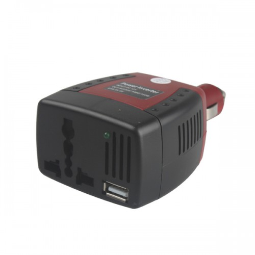 150W Automotive USB Inverter DC 12V to AC 220V