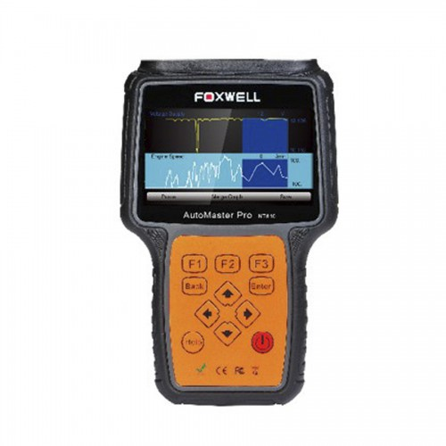 Français Foxwell NT644 AutoMaster Pro All Makes Full Systèmes+EPB+ Oil Service Scanneur