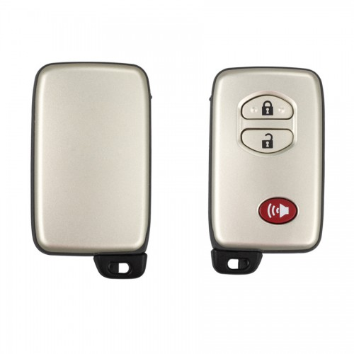 Auto smart key shell pour Toyota 2+1 button