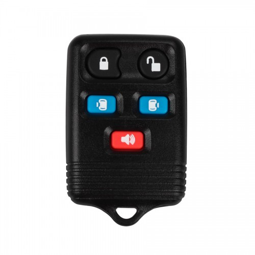 Remote key shell 5 button pour Ford 5pcs/lot