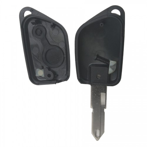 206 Remote Key Shell 2 Button Peugeot 5pcs/lot
