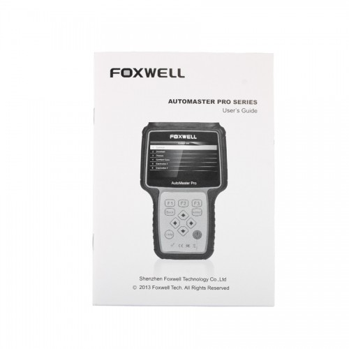 Foxwell NT621 AutoMaster Pro Asian Makes All System Scanner