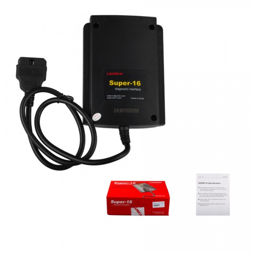 Launch X431 Super 16 Diagnostic Connector Original