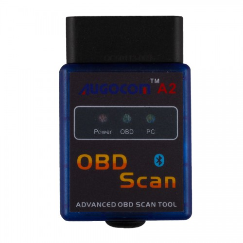 AUGOCOM A2 ELM327 Vgate Scan Advanced OBD2 Bluetooth Scan Tool(Support Android And Symbian) Hardware V2.1
