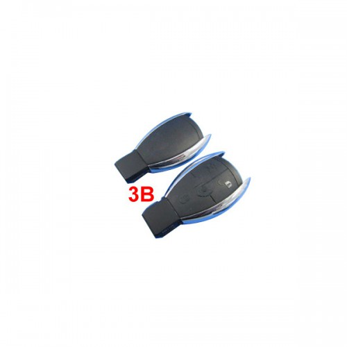 Smart Key Shell 3 Button For Benz without the Plastic Board