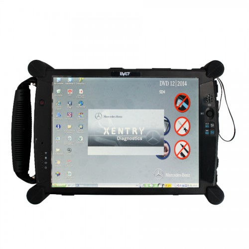 EVG7 DL46/HDD500GB/DDR4GB Diagnostic Controller Tablet PC(Can works with BMW ICOM)