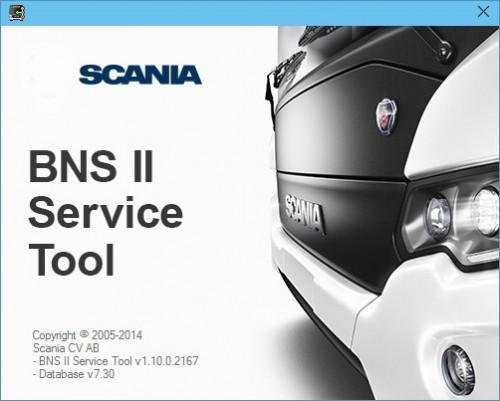 SCANIA DEVELOPER Software (XCOM-SOPS-Scania SDP3-BNS II)