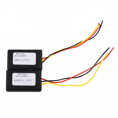 Seat occupancy sensor emulator for BMW