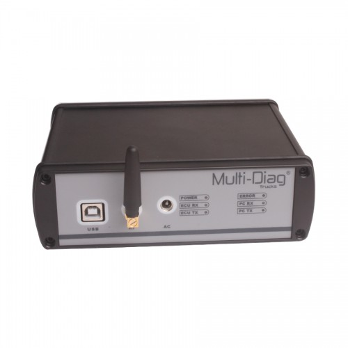 WAS MULTI-DI@G TRUCK Diagnostic Appareil Bluetooth Pour Mercedes/IVECO/MAN/DAF/VOLVO/RENAULT Heavy Duty