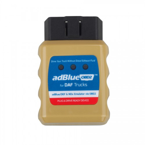 (328 promo)AD-Blue Emulator for DAF Trucks Plug and Drive Ready Device by OBD2