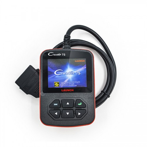 Launch X431 Creader 7S OBD II Code Reader + Oil Reset Function Support Multi-langauge Update Online