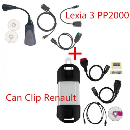 Lexia-3 V48 PP2000 PSA Diagnostic Tool plus Can Clip V200