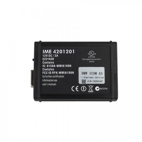 BMW ICOM A3 Diagnostic Interface Hardware V1.37 Sans Disque Dur HDD