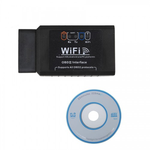 ELM327 1.5 WIFI OBD2 EOBD Scan Tool Support Android et Iphone/Ipad