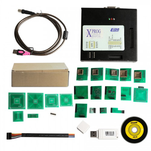 X-PROG Box ECU Programmer XPROG-M V5.74 avec USB Dongle Dernière Version