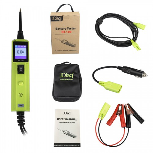 JDIAG BT-100 BATTERY ELECTRICAL SYSTEM CIRCUIT TESTER ORIGINAL