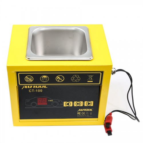AUTOOL CT100 CT-100 Petrol Injector Ultrasonic Fuel Injector Cleaner Machine for Car Motorcycle 110V/220V
