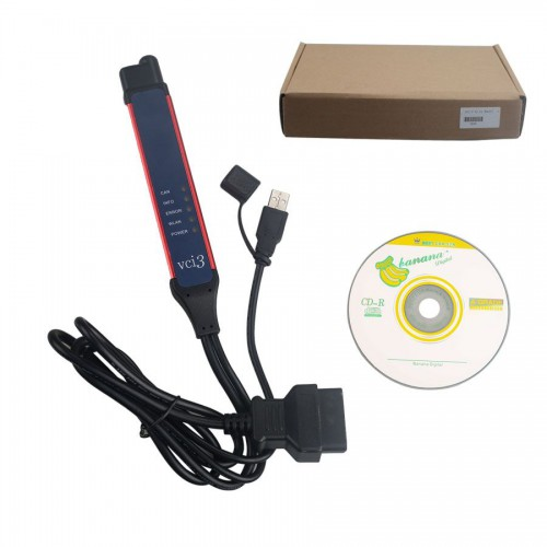 V2.31 Scania VCI3 Truck Diagnostic Tool Wifi Wireless For Scania