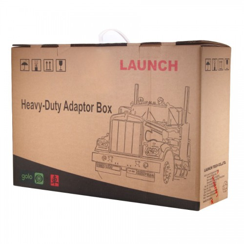 LAUNCH X431 HD Heavy Duty Adapter box HD Module Truck Diagnostic Adapter for X-431 V+ Pro3/ X431PAD II