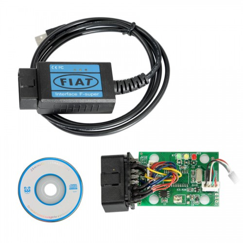 Fiat OBD2 EOBD Scanner USB Diagnostic Cable