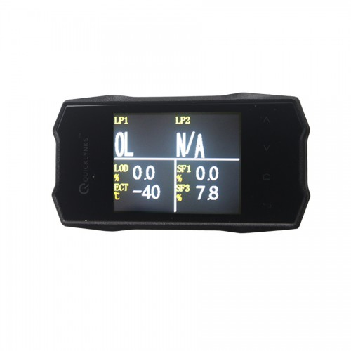 "QUICKLYNKS (TG6) TurboGauge VI 2.8"" Color Screen Auto Trip Monitor"