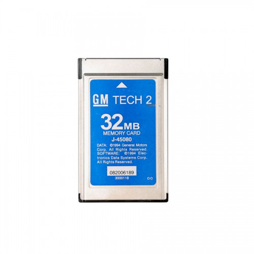 32MB Carte Pour GM TECH2(GM, OPEL, SAAB, ISUZU, Holden)