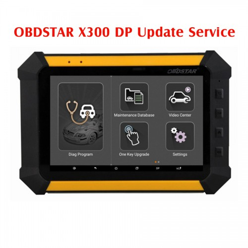 Latest Software & Models Update for OBDSTAR X300 DP/X300 DP Standard Configuration Update to Full Version Service