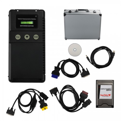 Professional MUT-3 with 4 Cables for Mitsubishi Diagnostic Tool for Cars