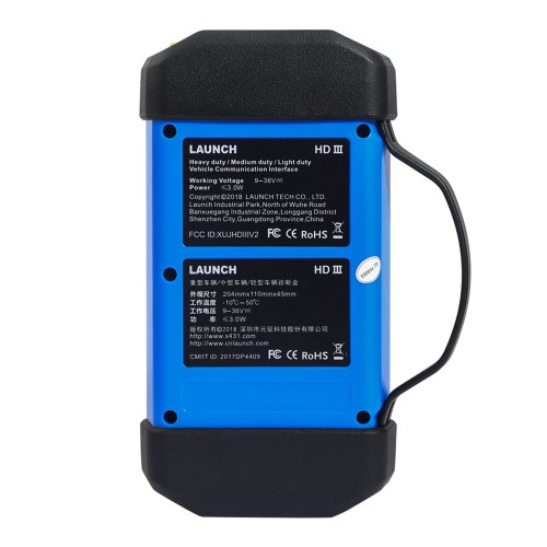 Launch X431 HD3 Heavy Duty Adapter box HD3 Module Truck Diagnostic Adapter for X-431 V+