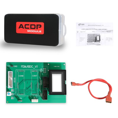 Yanhua Mini ACDP Module 2 BMW FEM/BDC Support IMMO Key Programming Odometer Reset Module Recovery Data Backup with License A50A A50C