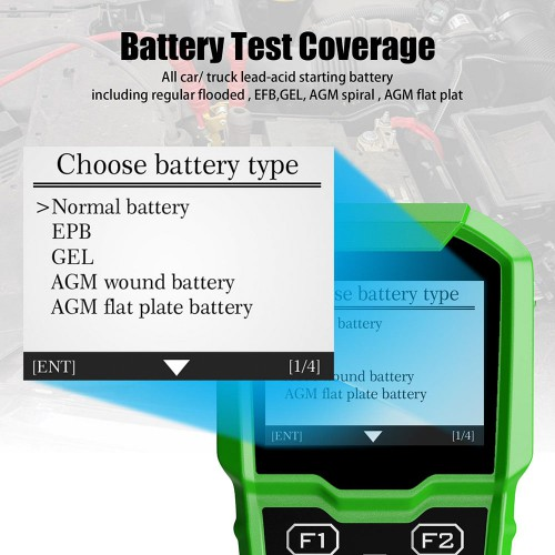 Obdstar BMT-08 12V/24V Automotive Battery Tester and Battery Matching Tool OBD2 Battery Configuration for Audi/BMW/Citroen/Ford/Jaguar