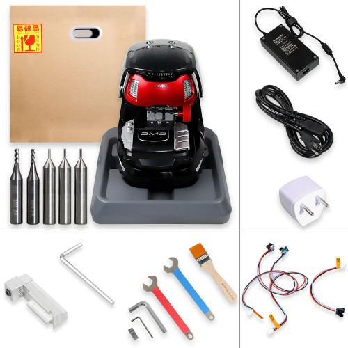 2M2 Magic Tank Automatic Car Key Cutting Machine controlled by bluetooth link to the mobile phone only Support Android Without Battery