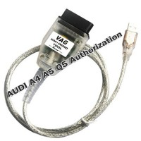 AUDI A4 A5 Q5 Authorization for VAG KM IMMO TOOL and Micronas OBD TOOL (CDC32XX) Cable 2006 to 2011