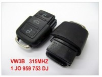 VW3B Remote 1 JO 959 753 DJ 315Mhz For America Canada Mexico China
