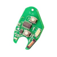 2 Boutons PCB Board (PCF7946) Key Pour Renault