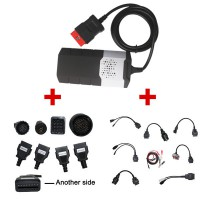 Multidiag Pro Sans Bluetooth Plus Voiture et Camion Cables 2016