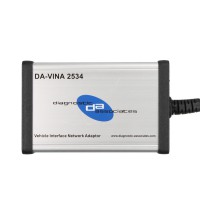 DA-VINA 2534 SAE J2534 Pass-Thru Interface V145 pour Jaguar Land Rover Support le Français