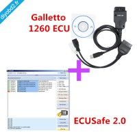 Galletto 1260 ECU Chip Tuning Tool Plus ECUSafe 2.0 OBD ECU Program