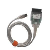 Cheap MINI VCI V12.10.019 Single Cable for Toyota