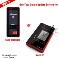 One Year Online Update Service for X431V 8inch/ X431 DIAGUN III/ X431 IV